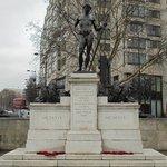 Boy David, Royal Machine Gun Corps Memorial.