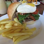 Humpty Dumpty burger....