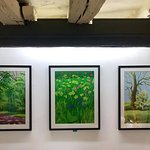 Exclusively David Hockney at A Bigger Gallery