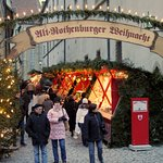 Weihnachtsmarkt in Rothenburg