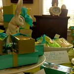 The Easter Bunnies are back at the Chocolate Shop!