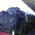 Leicester city steam locomotive