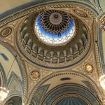 Gorgeous dome in the New Synagogue