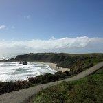 Coastal walk from the hotel