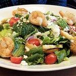 Mediterranean Shrimp Salad