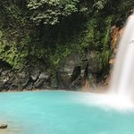 Waterfall and pool in Tenorio National Park