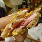 raw chicken from chicken cow burger