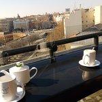Café en laterraza