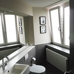 Bathroom with Windows