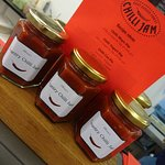 Our famous home-made in-house chilli jam, always sells like hot-cakes!