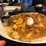 brown sugar, banana pancake....soooooooo good