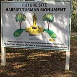Future site of Harriet Tubman Monument