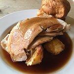 The roast pork