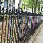beads on fences