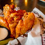 Don't forget our Legendary wings! Bob Baumhower first introduced Buffalo wings to AL in 1981!