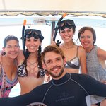 With Dive instructor Curt Sutherland