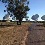 The Australia Telescope Compact Array照片