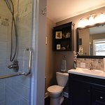 1st Floor bath, walk-in shower