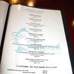 Fishgood menu.