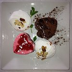 """Romeo and Juliet"" Panna Cotta @ Tucci's"
