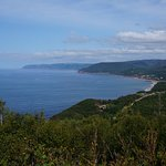 One of the many view points along the Cabot Trail