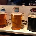 Local beer tasting tray, Yard House