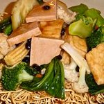 Chow Mein with Vegetables & Tofu
