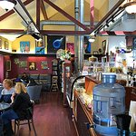 Has an old time Village Cafe feel