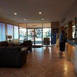 Lobby area, welcoming.