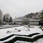 Château des Ravalet le 19/03/2018 sous la neige