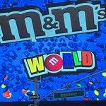 Bilde fra M&M'S World New York
