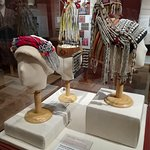 Ethnic headdress display