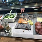 Salmon is nice!