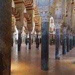 Dentro de la Mezquita-Catedral