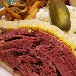 Smoked meat close up
