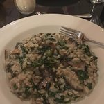 Spinach & mushroom risotto- cooked fresh!