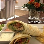 Avocado Shrimp Wrap