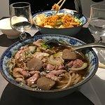 Soupe PHO et Bo Bun crevettes