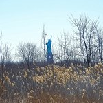 Statue of Liberty from Liberty State Park.
