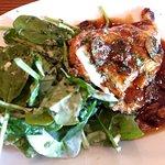 Chicken Marsala with Spinach