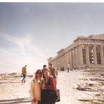 Con el Partenón al fondo