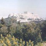 La Acrópolis desde la Colina de las Musas