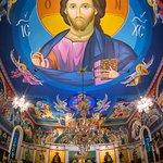 The icons took 13 years to paint by Belgrade iconographer Miloje Milinkovic.