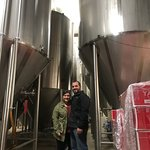 Tour of the brewery!