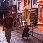Very detailed Diagon Alley.