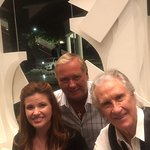 Bill Medley, McKenna (Bill's daughter) and myself.