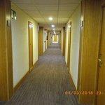 1st floor rooms corridor