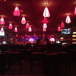 Yes, I get it, it's the Red Lantern (painfully dark dining experience)