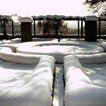 Winter im Burggarten