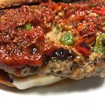 Gios Grilled-Fried Italian Meatloaf Sandwich. Saturday's Daily Special.